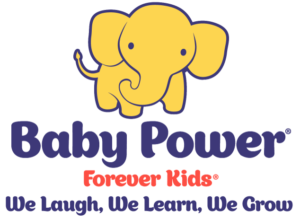 baby power forever kids education franchise logo